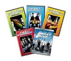 BIGWORDS.com   Fast & Furious: 1-5 Bundle   0025192191497 - Buy new and used dvd, books and more