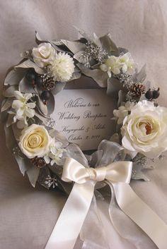 かわいくてオシャレ♡結婚式におすすめのウェディングリース画像まとめ