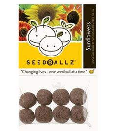 SeedBallz  Sunflowers -- Visit the image link more details.