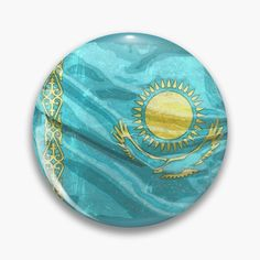 Kazakhstan, Badge, Tote Bag, Zipper Pouch, Owl, Boutique, Clock, Slipcovers, Handkerchief Dress