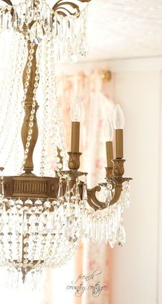FRENCH COUNTRY COTTAGE: French Style Chandelier