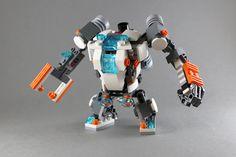 https://flic.kr/p/wgKfG4 | Construction Robot-1 | LEGO31034 rebuild