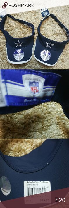 ♡NewItem♡Dallas Cowboy Official Sideline  Headwear Dallas Cowboy Headwear//Dallas Cowboys Authentic Headwear//TmNew with Tags//Price is for a Pair of 2:) Accessories Hats