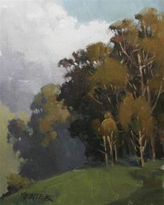 "Daily Paintworks - ""Saturday's Eucalyptus"" by Paul Kratter"