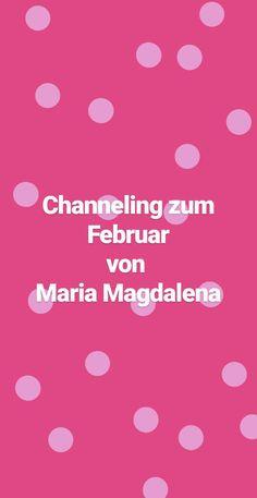 Botschaft von Maria Magdalena für Februar.  #seelenschimmer #channeling #Mariamagdalena #aufgestiegenemeister #botschaft #geistigewelt Maria Magdalena, Channel, Movies, Movie Posters, February, Film Poster, Films, Popcorn Posters, Film Books
