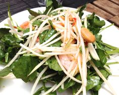 Chop Shop in Chelsea Don't miss the salad of julienned green papaya, watercress, shrimp and cashews in a spicy refreshing dressing so good I wanted to drink it ($10).