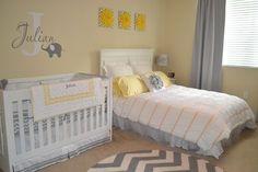 quarto de bebê com irmã