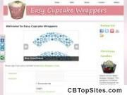 Easy Cupcake Wrappers Easy Cupcake Wrappers