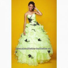 Mint grünes abiball kleid brautkleid mit blumen Prom Dresses Online, Homecoming Dresses, Dress Online, Strapless Dress Formal, Formal Dresses, Wedding Dresses, Formal Wear, Party Dresses, Pastel Green Dress