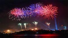 Hiburan Malam Tahun Baru Tidak Ada Kembang Api
