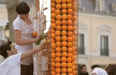 Orange-Powered Billboard - 25 Advertising Campaigns That Inspire Social Good | Complex AU