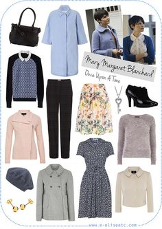 Character Style Inspiration - Mary Margaret Blanchard (Once Upon A Time)