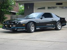1980's + Cool Guys = Iroc-Z. I wanted one of these so bad that I married a guy with one!