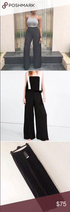 Spotted while shopping on Poshmark: Brand new High waisted pleated pants! #poshmark #fashion #shopping #style #Zara #Pants
