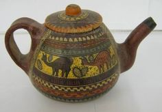 Pottery Tea Pot