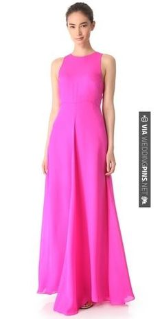 So good - Jenni Kayne Racer Back Gown | CHECK OUT MORE GREAT PINK WEDDING IDEAS AT WEDDINGPINS.NET | #weddings #wedding #pink #pinkwedding #thecolorpink #events #forweddings #ilovepink #purple #fire #bright #hot #love #romance #valentines #pinky