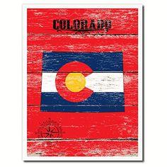 Colorado State Flag Custom Made Frame Patriotic Home Office Decoration Designed Housewarming Art Gift Ideas AllChalkboard http://www.amazon.com/dp/B00Y3RZSQM/ref=cm_sw_r_pi_dp_UGeJvb0MCGP5N