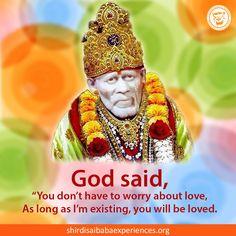 Shirdi Sai Baba Blessings - Experiences Part 2663 Sai Baba Pictures, God Pictures, Sai Baba Miracles, Shirdi Sai Baba Wallpapers, I Love You God, Sai Baba Quotes, Sathya Sai Baba, Ganesh Images, Baba Image