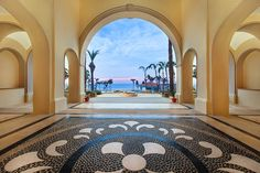 Newly renovated lobby is waiting to receive our Unlimited Vacation Club members.
