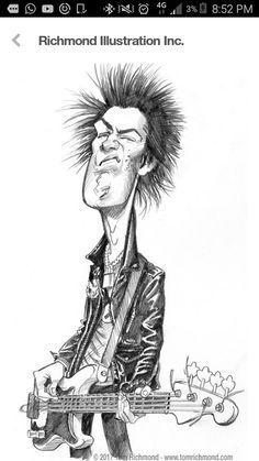 Sid Vicious. Sex Pistols