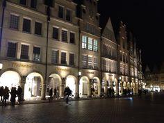 Prinzipalmarkt am Abend