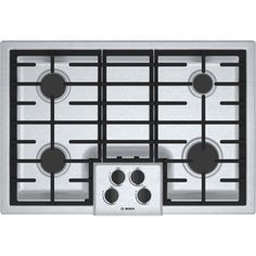 Bosch NGM5055UC 500 30' Stainless Steel Gas Sealed Burner Cooktop Á_ >>> Check this awesome product by going to the link at the image.