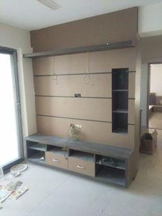 Living Room Tv Unit, Living Room Plan, Living Room Sofa Design, Living Room Modern, Wall Unit Designs, Tv Unit Design, Tv Wall Design, Lcd Panel Design, Partition Design