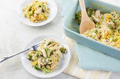 Easy Rice, Chicken, and Broccoli Casserole