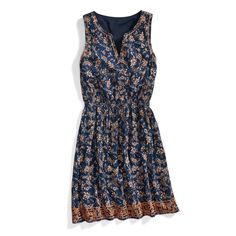 Stitch Fix Boho Style: Printed Sundress