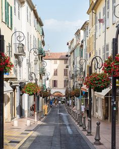 Antibes, France. Before the crowds arrive. Been there done that <3