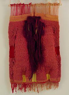 DONA CATALANA Josep Grau-Garriga (Spanish) Date: 1972 Medium: Rope, cord and synthetic fibers Dimensions: H. 38, W. 24 inches (96.5 x 61 cm) Classification: Textiles