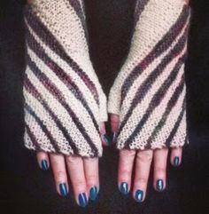 Knitting and so on: Winding Mitts