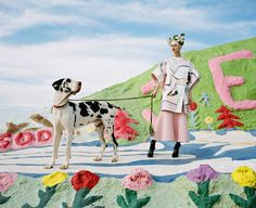 JUCO heads to Salvation Mountain for their latest editorial featured in Paper Magazine. Styled by Shirley Kurata