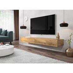 20 idees de meuble tv suspendu 140 cm