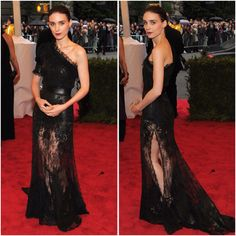 Absolutely love. Lace lace lace! (Rooney Mara in Givenchy Haute Couture by Riccardo Tisci at the Met Gala 2012)