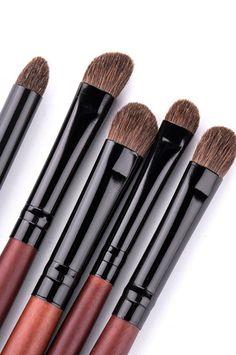 cosmetic tools with pony hair brush eye brush Eye Brushes, Makeup Brushes, Pony Hair, Hair Brush, Cosmetics, Tools, Eyes, Brushes, Appliance