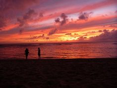 Hawaii, Sonnenuntergang, Tropisch