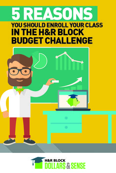 Thinking about introducing the H&R Block Budget Challenge into your classroom? Here are 10 reasons why you absolutely should!