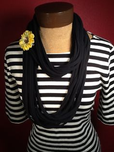 T Shirt Scarf  Infinity Scarf Belt on Etsy, $18.00