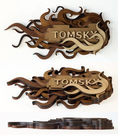 2.5d laser cut sign - Google Search