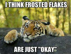 Tiger Meme - Animal Meme - Frosted Flakes