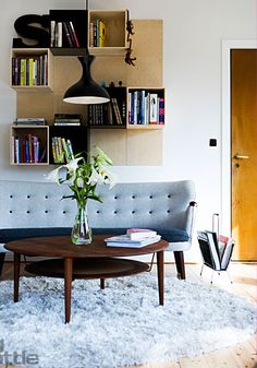 Via La Maison d'Anna G | Scandi Design | Finn Juhl The Poet Sofa