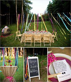 Ribbon decorating ideas