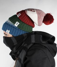 LMNH Bobble Hat *new colours* – Look mum no hands!