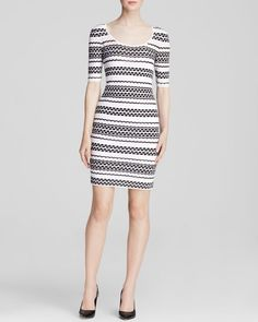 M Missoni Dress - Elbow Sleeve Bubble Knit
