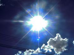 Sol intenso, fim de tarde de um Domingo...
