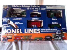 Lionel 36 Piece G Gauge Steam Train Set #Lionel