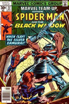 Marvel Team-Up #57 - When Slays the Silver Samurai!
