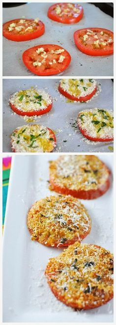 How To tomato sliced minced garlic to taste