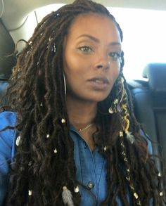 For your next new protective hairstyle, we're telling you how to do faux locs and showing our fave long and short faux locs styles using Marley hair and more. Faux Locs Hairstyles, Girl Hairstyles, Curly Hair Styles, Natural Hair Styles, Beautiful Braids, Twist Braids, Twists, Love Hair, Braid Styles